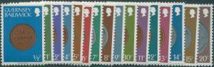 Guernsey 1979 SG177-194 Coins MNH