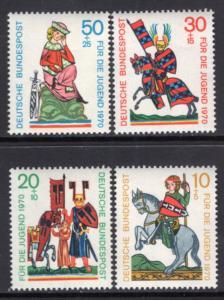 Germany B455-B458 MNH VF