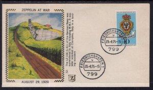 Germany Zeppelin at War 1975 Zaso Cover
