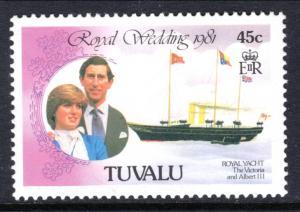 Tuvalu 159 Royal Wedding MNH VF