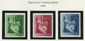 HUNGARY SCOTT#B192/94 MINT NEVER HINGED AS SHOWN--SCOTT VALUE $15.00