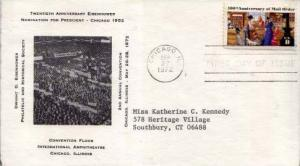 United States, First Day Cover, Illinois