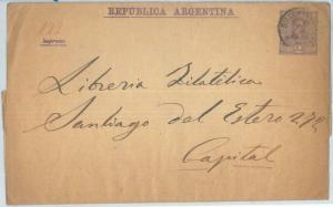 72212 - ARGENTINA - POSTAL HISTORY - Postal STATIONERY WRAPPER
