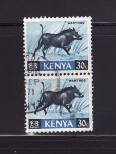 Kenya 24 Pair U Animals, Warthog (B)