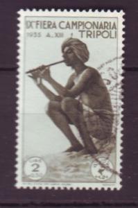 J18584 JLstamps 1935 libya-tripoli hv of set used #b60 music