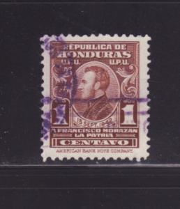 Honduras RA2 Set U General Francisco Morazán (B)