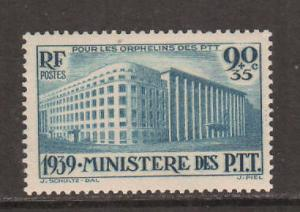 France Sc B83 MLH. 1939 Ministry of Posts cplt. F-VF