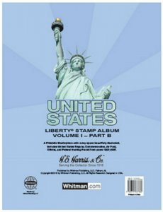 HE Harris USA LIBERTY 1 STAMP PAGES Part B 1995 - 2006