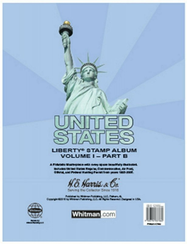 HE Harris USA LIBERTY 1 STAMP PAGES Part B 1995-2006 (Liberty I - Pages Only)
