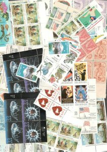 US Discount Postage Stamps Over 500 Mixed Lot Face Value $123.98+ FREE SHIPPING