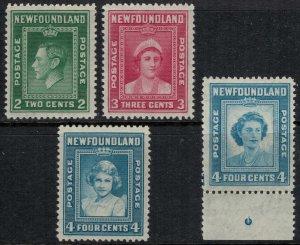 Newfoundland #245-7,69*  CV $6.20