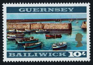 Guernsey 22a MNH Braye Harbour, Boats