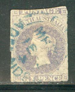 Australia South Australia Scott # 8, used
