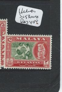 MALAYA KELANTAN (P0410B) $2.00  SG 93  MNH