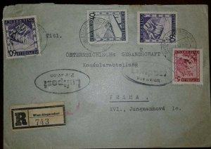 O) 1947 AUSTRIA, RAILROAD-VIADUCT NEAR SEMMERING, MARIAZELL STYRIA, LEOPOLDSBERG