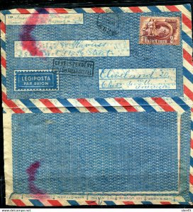 Hungary 1951 Wrapper to USA Singal Usage 11465