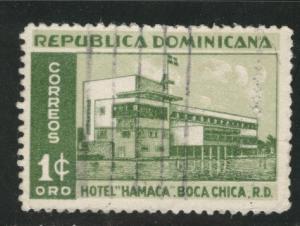 Dominican Republic Scott 438 used 1950-1952