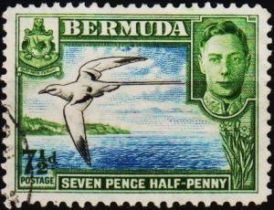 Bermuda. 1938  7 1/2d  S.G.114c Fine Used