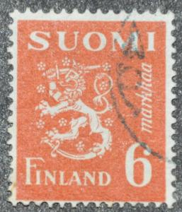 DYNAMITE Stamps: Finland Scott #259 - USED