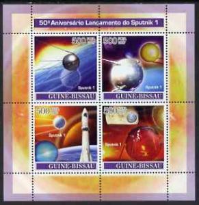 Guinea - Bissau 2007 Space - Sputnik 1 perf sheetlet cont...