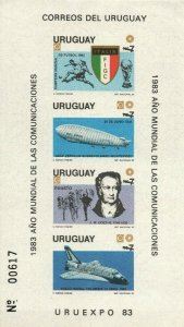 Events of year Football Soccer championship Italy Uruguay imperforated s/s 1147a