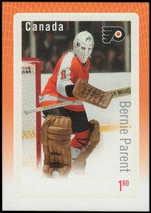 Canada Stamp #2877 - Bernie Parent (2015) $1.80