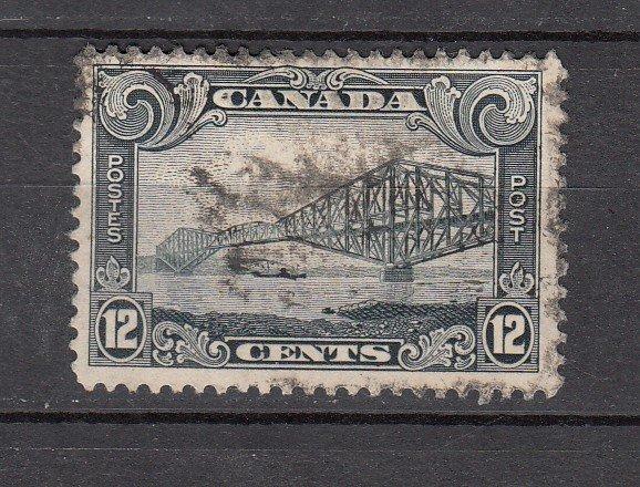 J26205 jlstamps 1928-9 canada used #156 bridge