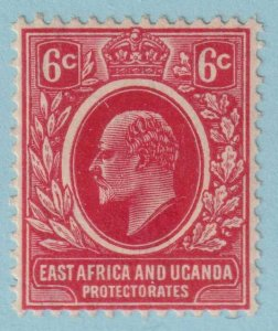 EAST AFRICA AND UGANDA PROTECTORATE 33  MINT HINGED OG - NO FAULTS VERY FINE!