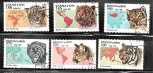 Benin 1999 SC# 1190-1195