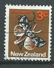 New Zealand SG 1010  FU unwatermarked paper