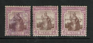 Trinidad & Tobago SG# 1523 Used / 153 AB Mint Hinged / Hinge Rems - S6282
