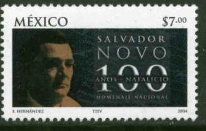 MEXICO 2351, Salvador Novo, Poet, Centenary of his Birth. MINT, NH. VF.