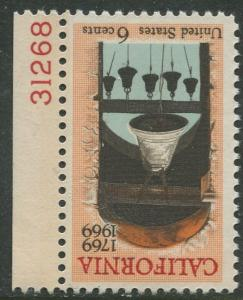 STAMP STATION PERTH USA #1373  MLH OG  1969  CV$0.25.