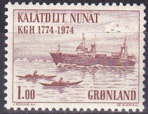Greenland #98  MNH