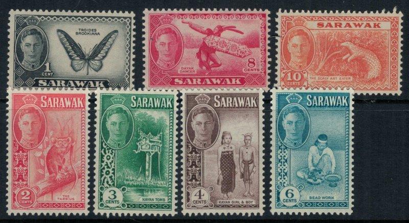 Sarawak #180-6* CV $7.80
