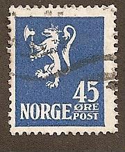 Norway  Scott 114  Used