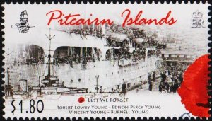 Pitcairn Islands. 2015? $1.80 Fine Used