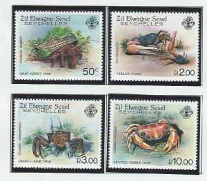 Seychelles Zil Elwannyen Sesel    mnh sc 84 - 87
