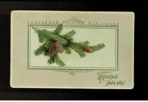 1916 Russia Christmas postcard Cover