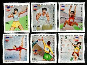 El Salvador 1316-1320 Mint NH MNH Olympics!