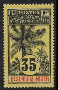 Upper Senegal & Niger 1906 35c Scott # 10,VF-XF MLH*OG (SP-3)