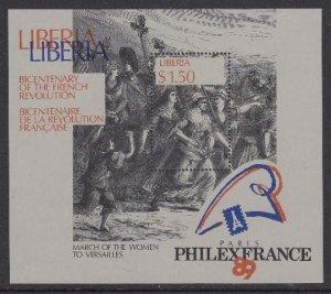Liberia 1130 PHILEXFRANCE mnh