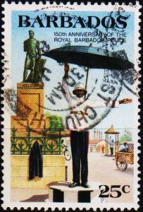 Barbados. 1985 25c S.G.789 Fine Used