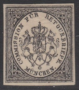 GERMANY Retourbriefe - Returned Letter Stamp - an old forgery - Munchen.....B231