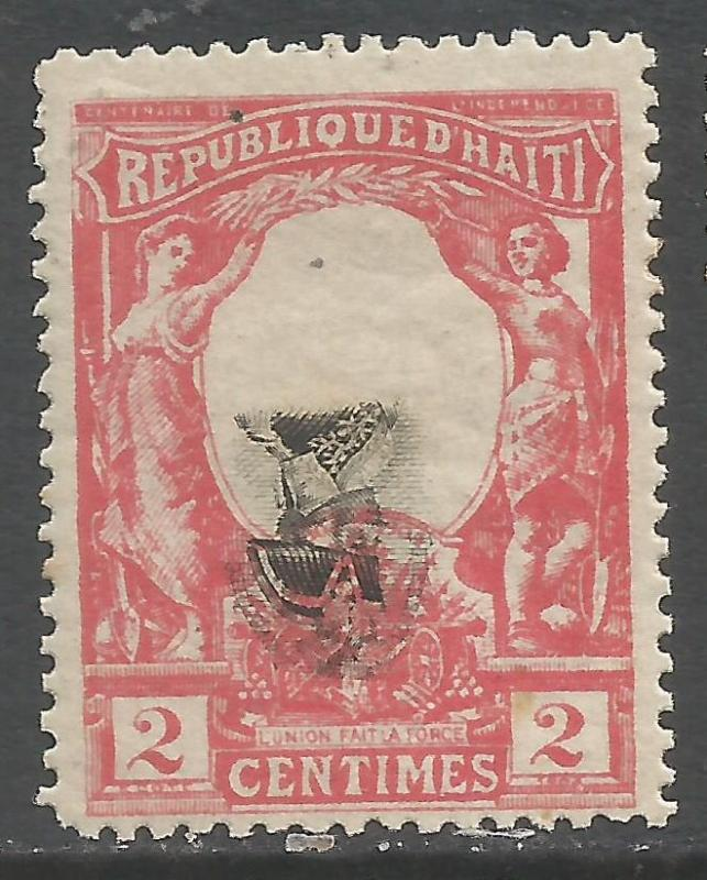 HAITI INVERTED CENTER 83a MOG 310F
