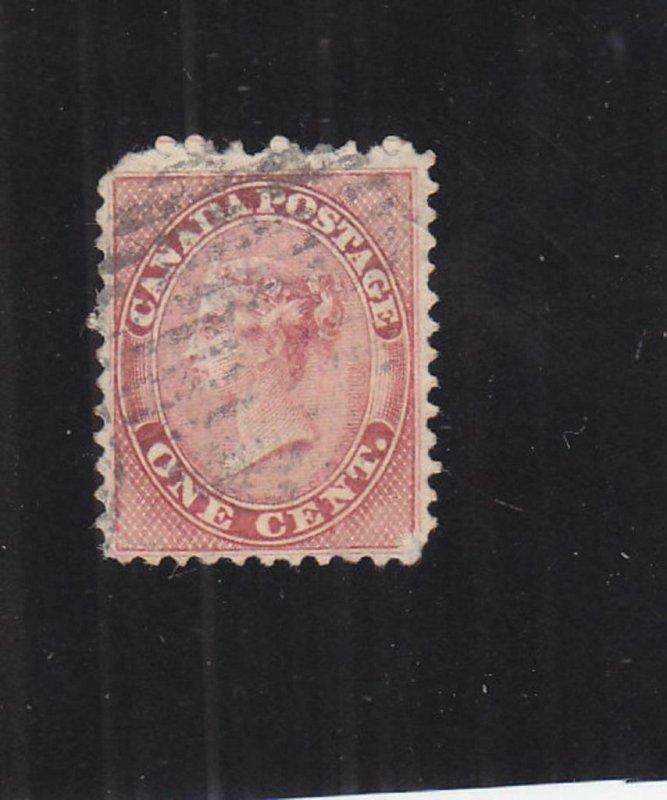 Canada: Sc #14, Used (33187)