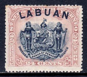 Labuan - Scott #84 - MH - See description - SCV $42