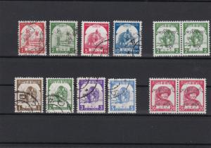Japanese Occupation Burma Mint Never Hinged + Used Stamps cat 136 Ref 26974