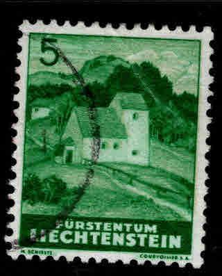 LIECHTENSTEIN Scott 137 Used stamp