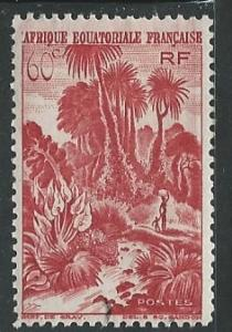 French Equatorial Africa  + Scott # 170 - MH
